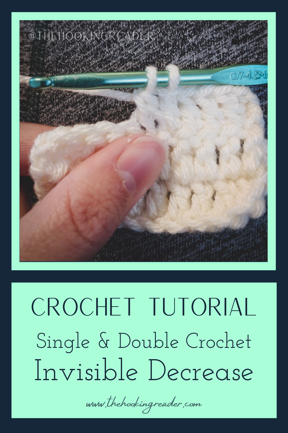 Single & Double Crochet Invisible Decrease