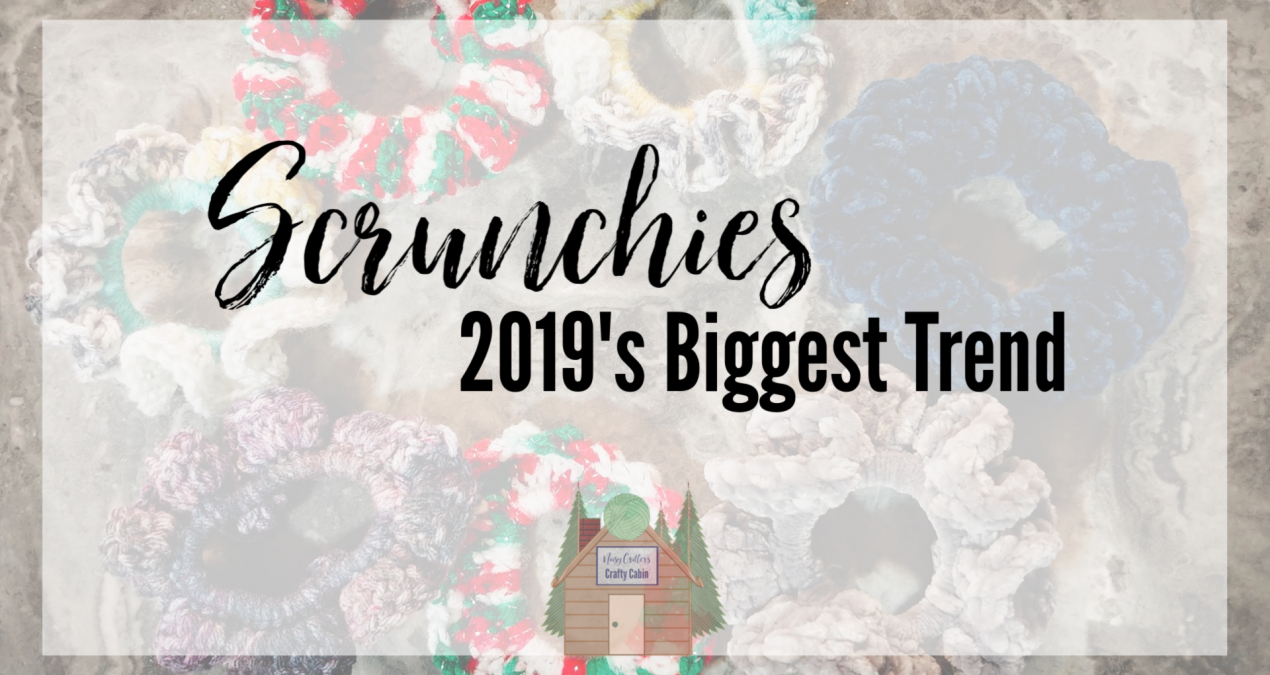 Scrunchies – 2019's Biggest Trend