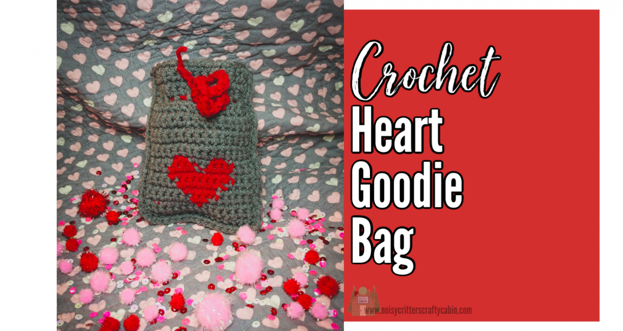 Crochet Heart Goodie Bag Free Pattern