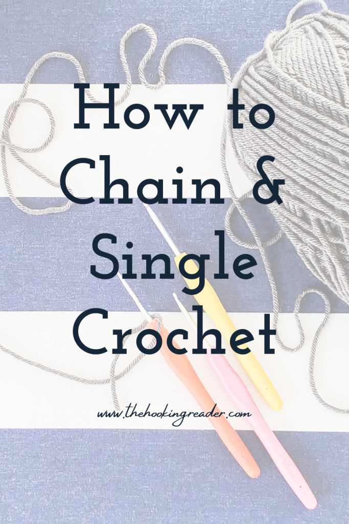 how to chain & single crochet