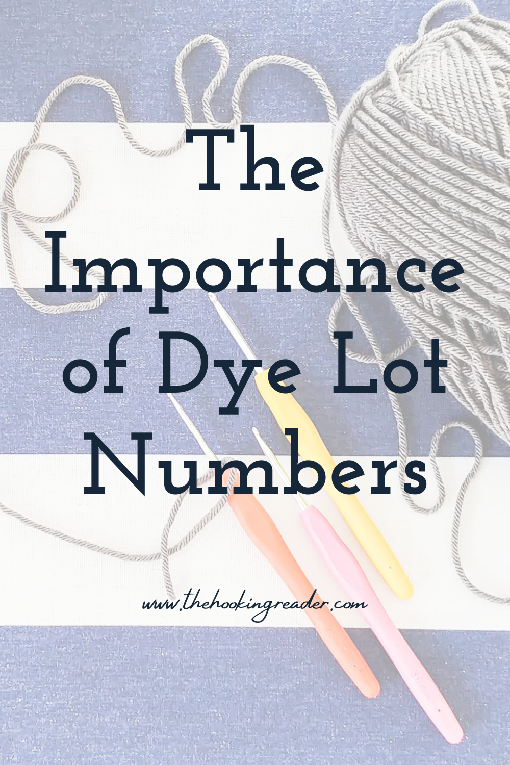 Why Yarn Dye Lot Numbers are Important