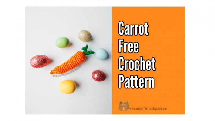 free crochet carrot pattern