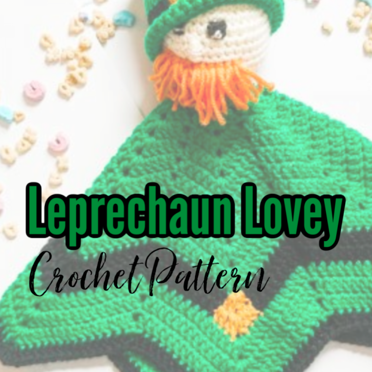 leprechaun lovey crochet pattern