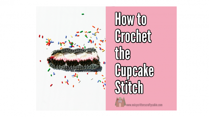 how to crochet the cupcake stitch