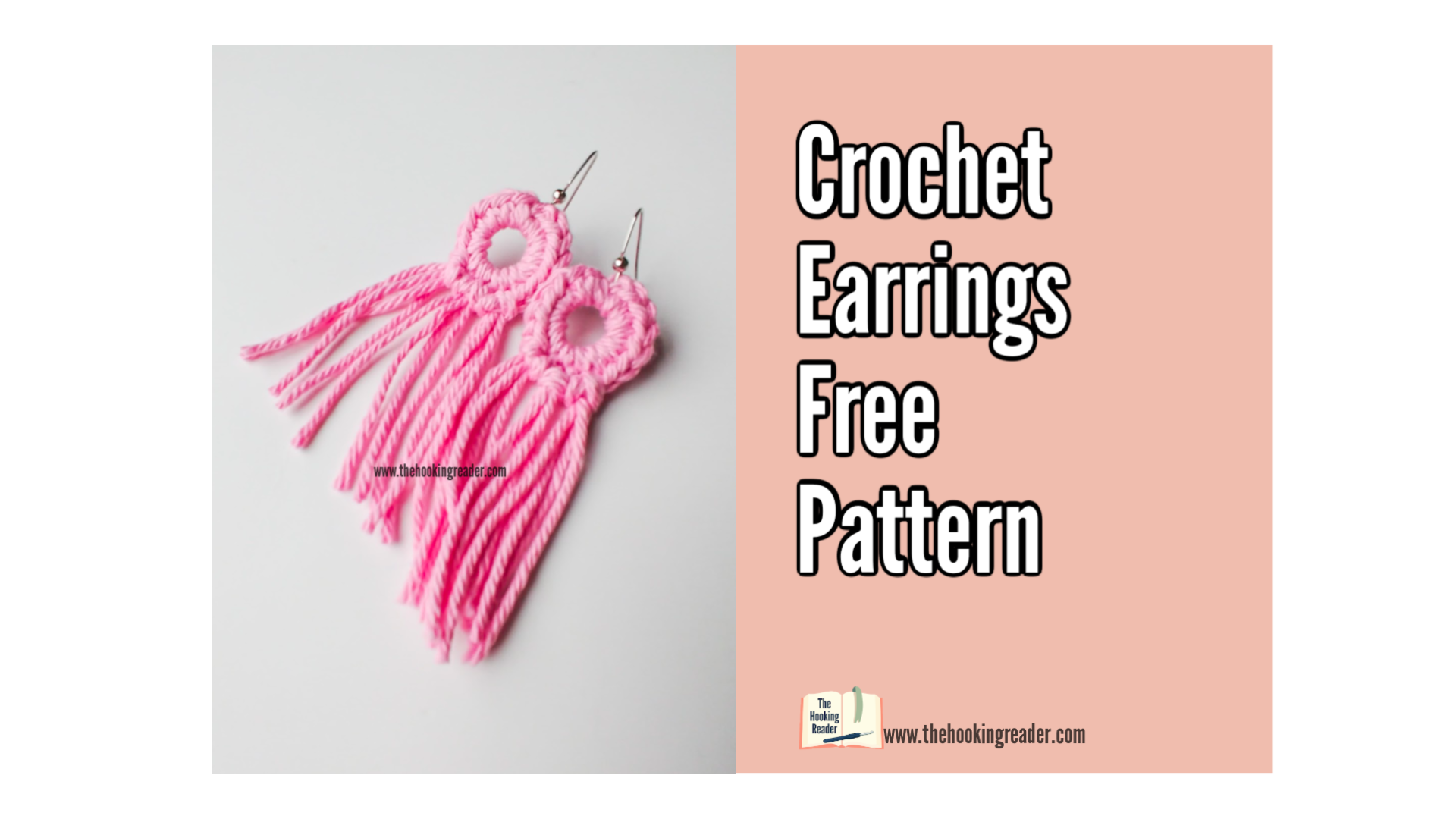 Crochet Earrings Free Pattern