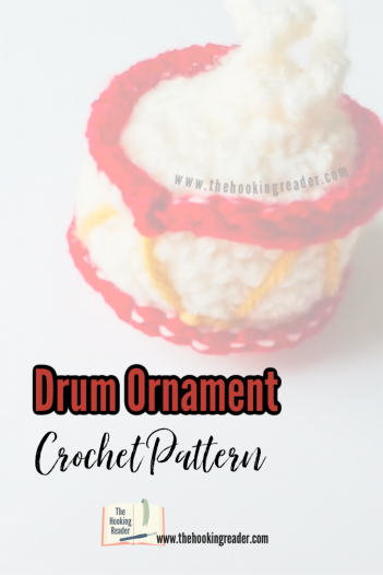 drum ornament crochet pattern
