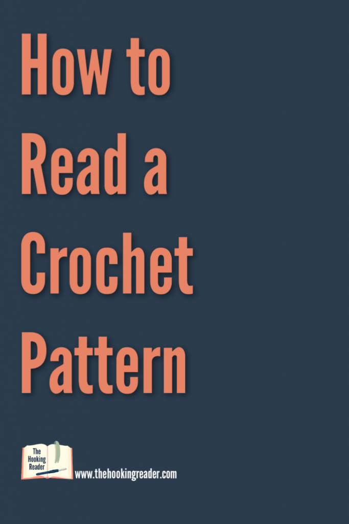 how to read a crochet pattern pin