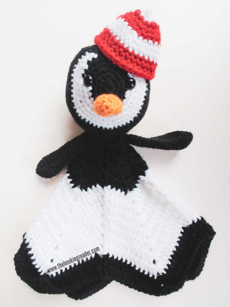 penguin accessories crochet patterns candy cane hat