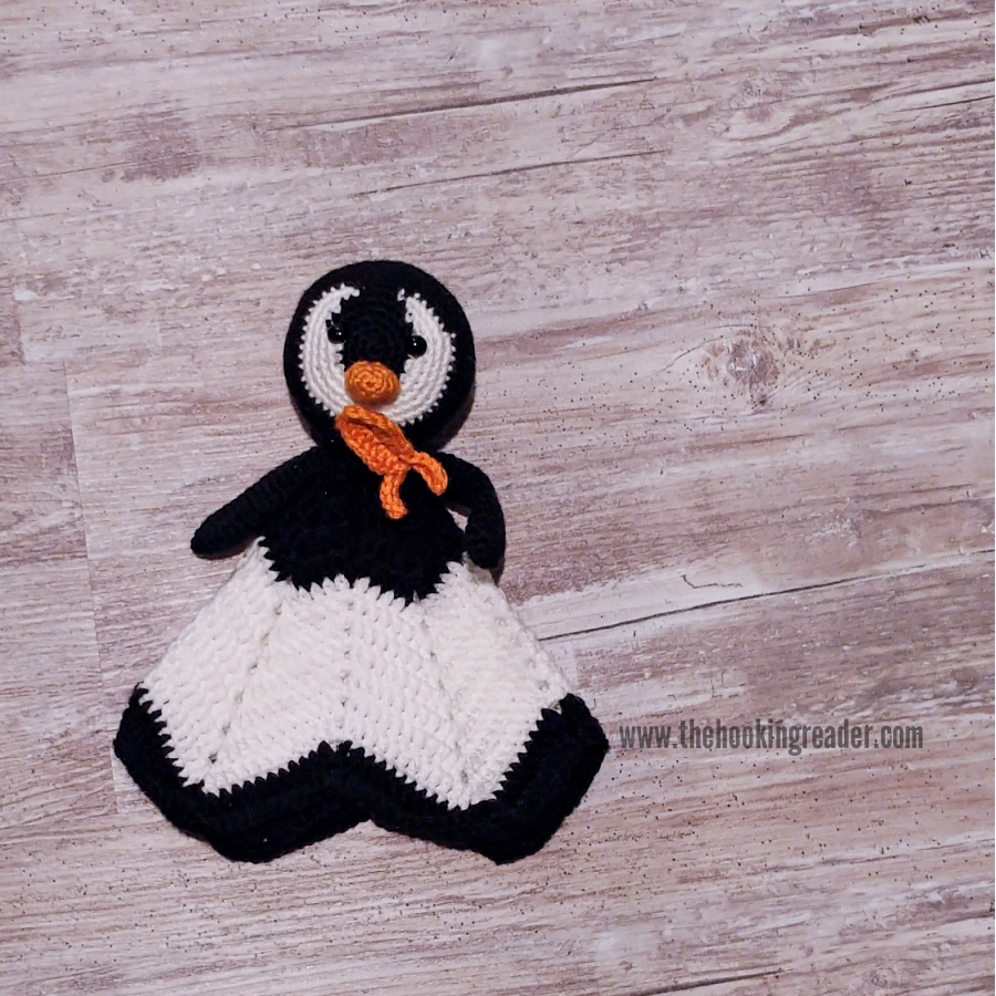 penguin lovey accessories fish friend
