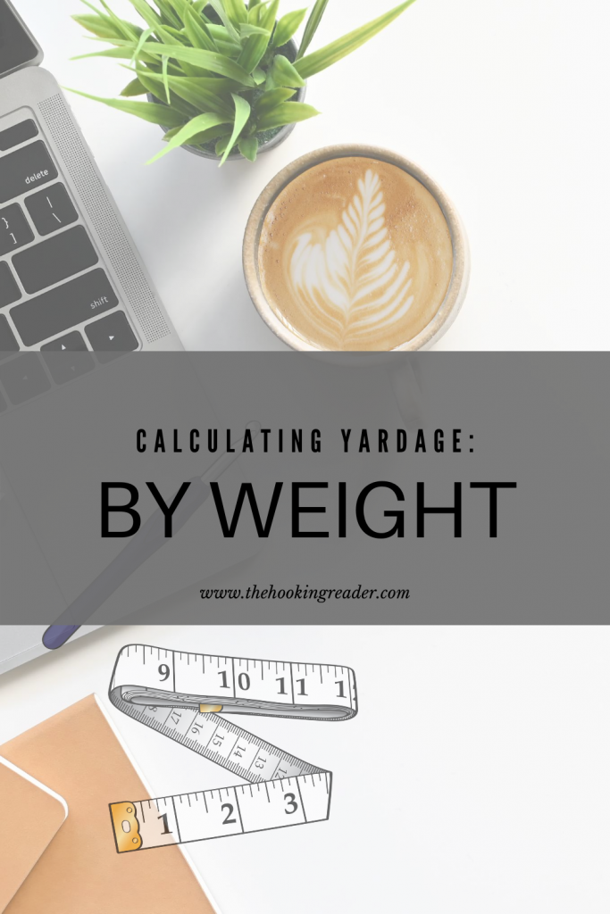 calculating yardage by weight