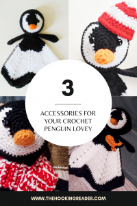 penguin accessories crochet patterns pin