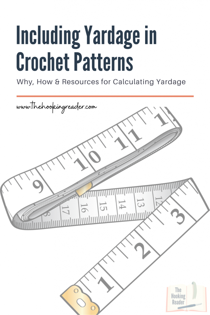 including yardage in crochet patterns pin
