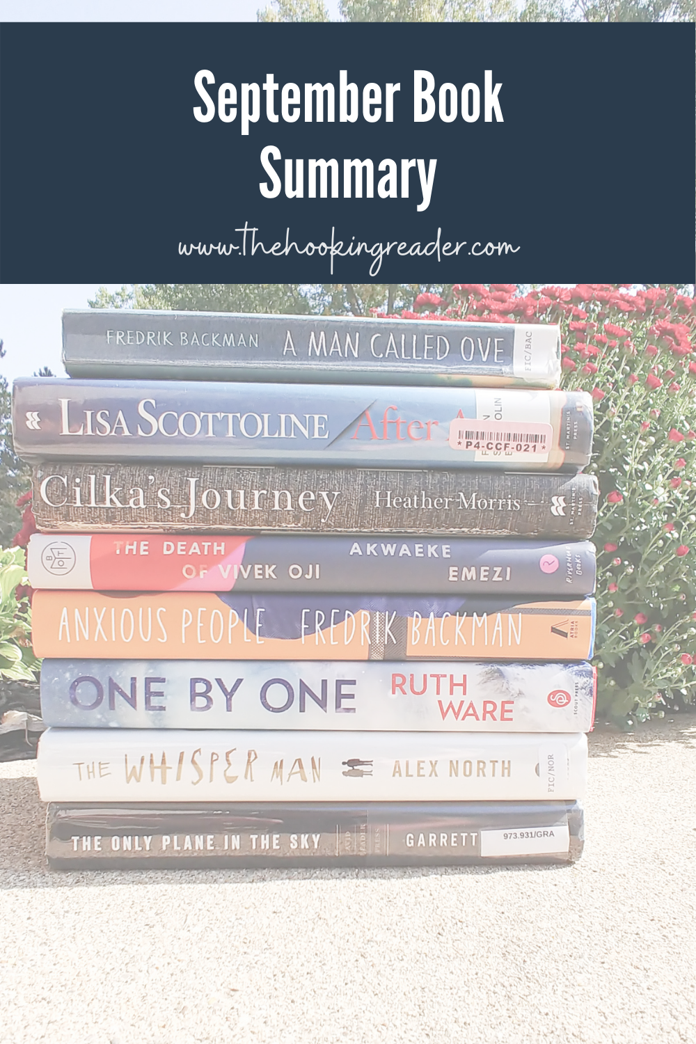 September Book Summary – What I Read