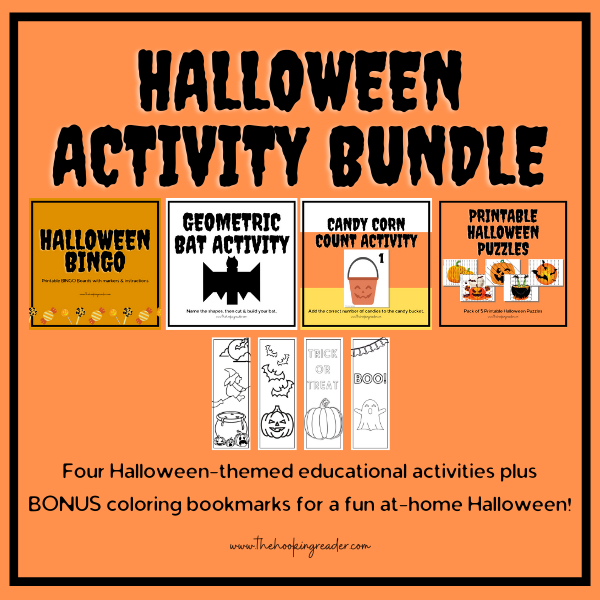 halloween activity bundle for a socially distanced holiday at home