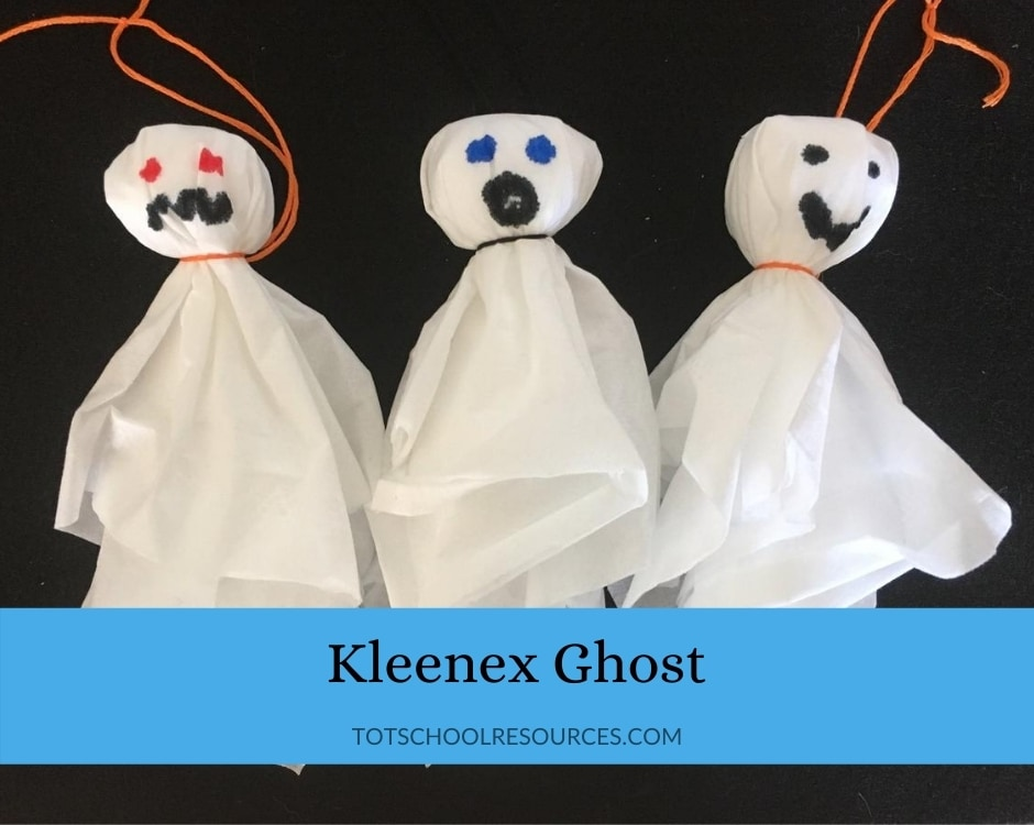 kleenex ghost halloween at home a socially distanced holiday