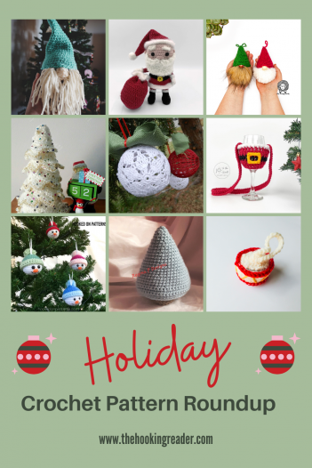 holiday crochet pattern roundup, christmas crochet patterns