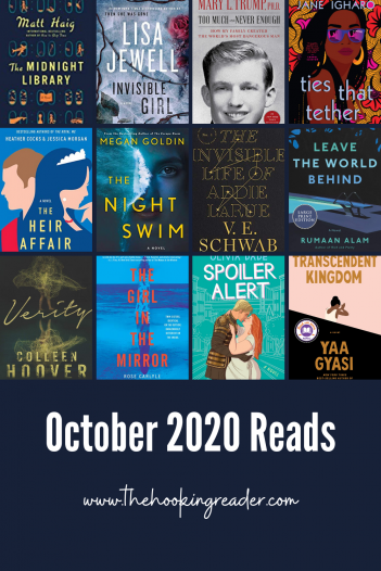 october 2020 reads october book summary