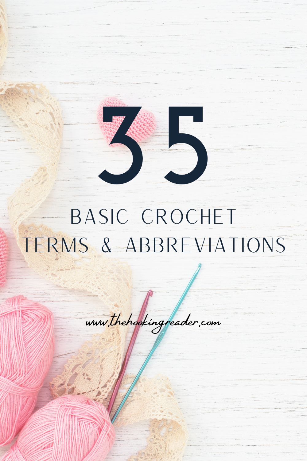 Basic Crochet Terms and Abbreviations