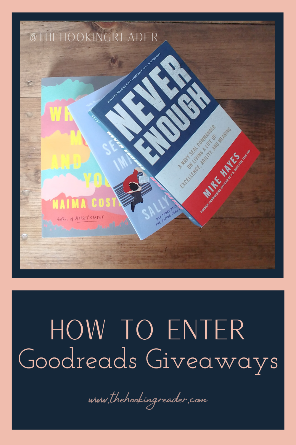 How to Enter Goodreads Giveaways