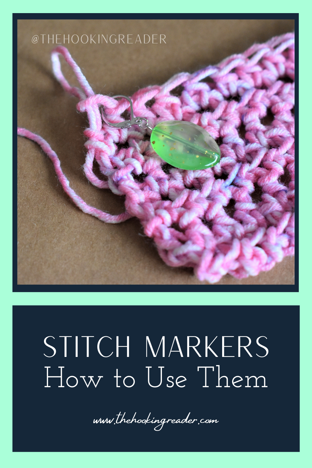 Stitch Markers and How to Use Them
