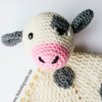 cow lovey crochet pattern